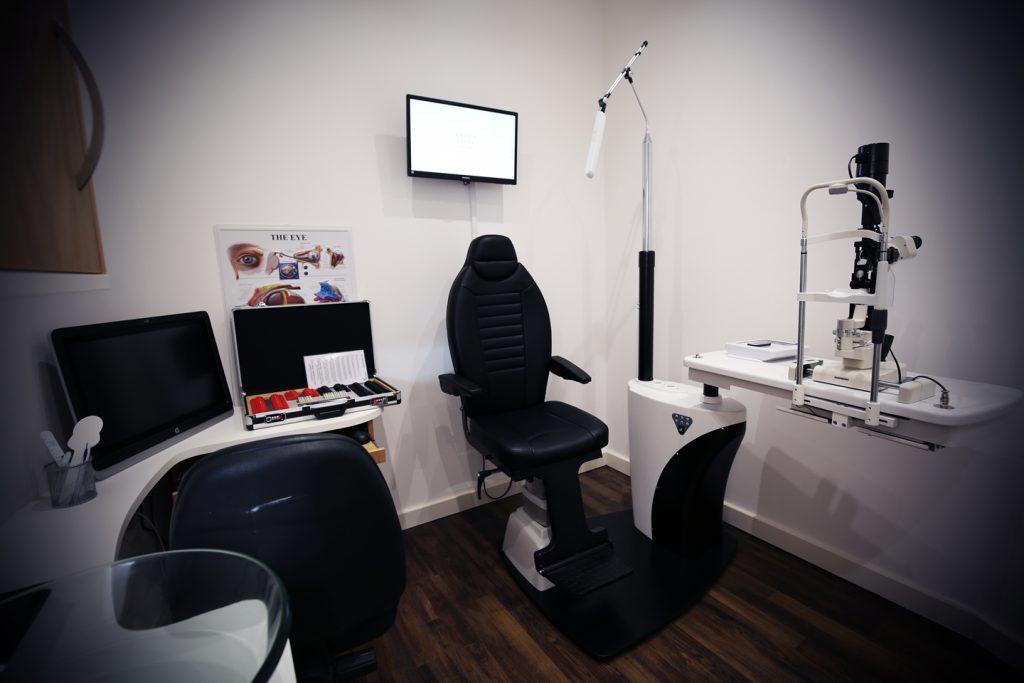Eye Care Test Room